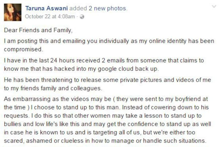 Internet Is Lauding This Woman For Standing Up Against Cyber Bullying