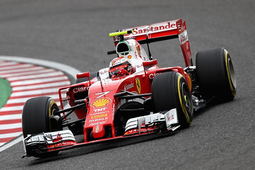 Ferrari's Kimi Raikkonen Hit With 5-place Grid Penalty In Suzuka