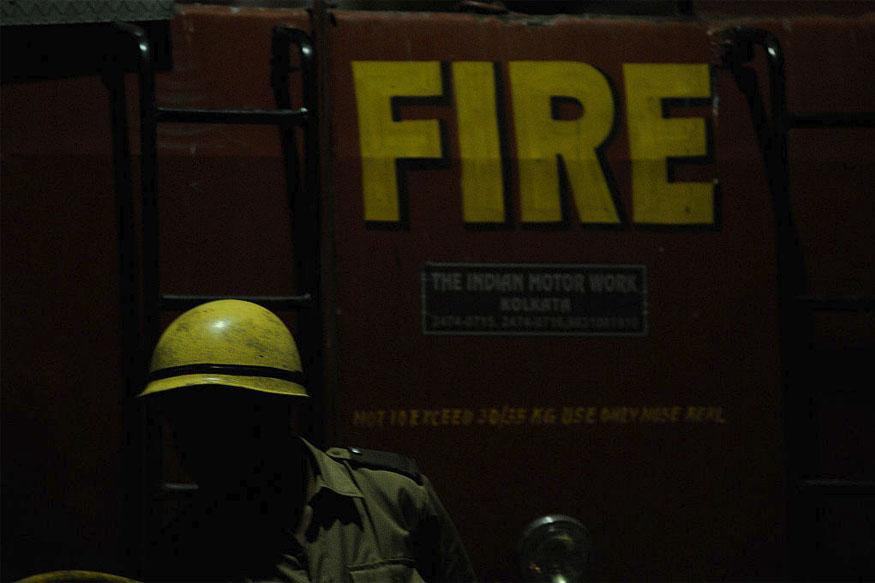 Fire Breaks Out in Commercial Building in North Delhi