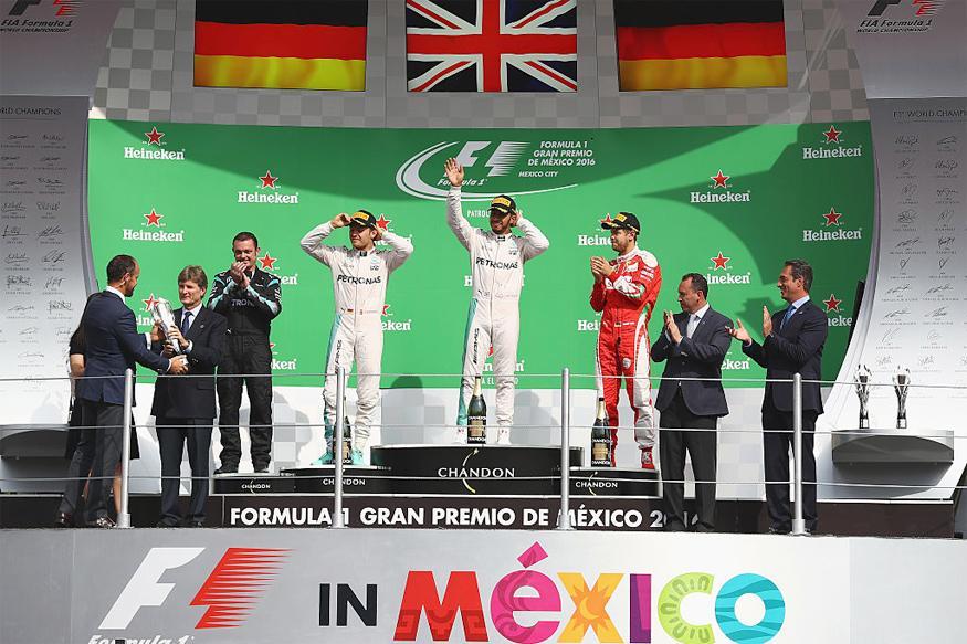 Lewis Hamilton Wins Mexican Grand Prix, Nico Rosberg Second