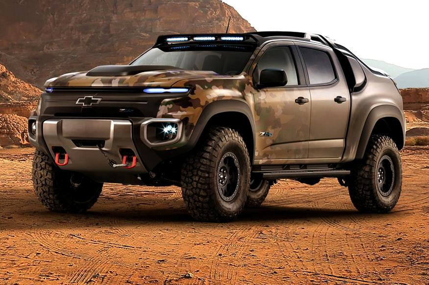 Chevrolet Colorado ZH2 SUV Looks Ready For War, Runs on Hydrogen Fuel Cell