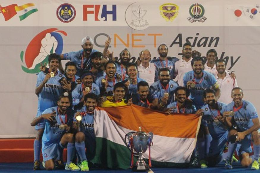 The Indian Team That Beat Pakistan to Win Asian Champions Trophy
