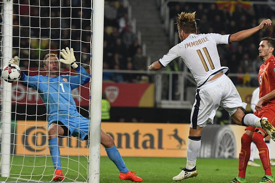 FIFA WC Qualifiers: Immobile Rescues Italy, Spain Cruise Past Albania
