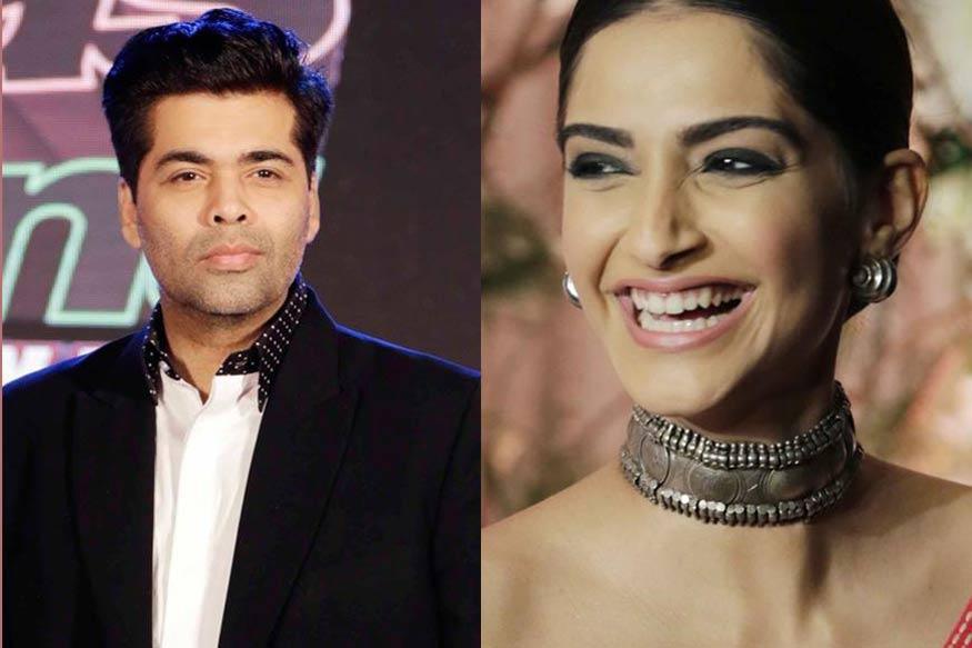Karan Johar Has a Fake Laugh, Quips Sonam Kapoor