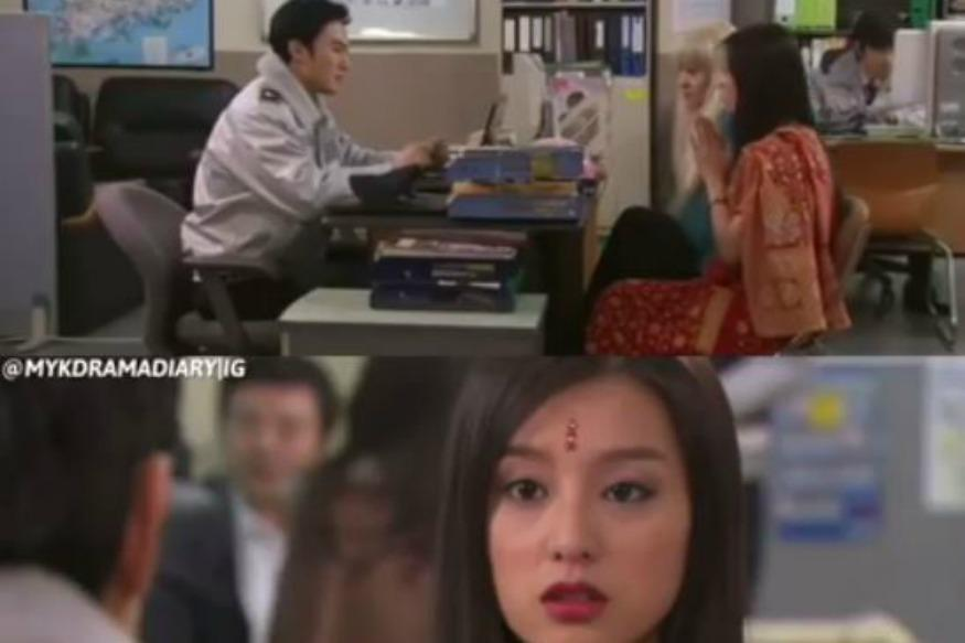 This Korean Girl Pretending To Be An Indian On A TV Show Has Got Everyone Laughing