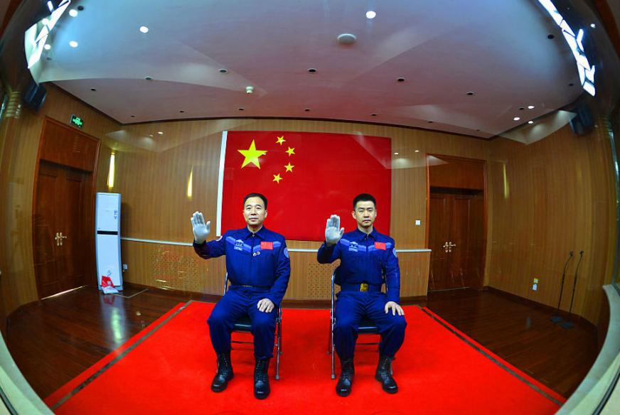 China Launches Space Mission Carrying Two Astronauts
