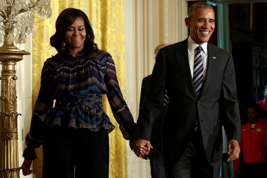 Barack Obama Wishes Wife Michelle Happy Anniversary In The Most Romantic Way