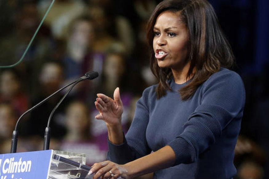 Michelle Obama Slams Trump For 'Intolerable' Treatment of Women