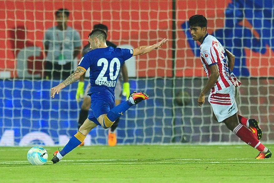 ISL: Mumbai City FC go Top After Draw With Atletico de Kolkata