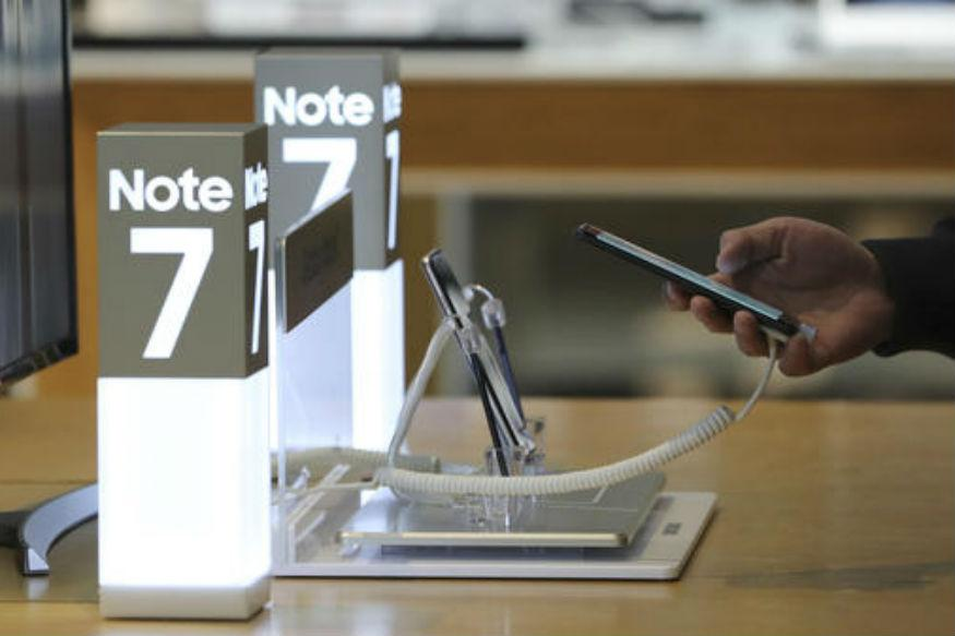 US Government Bans Samsung Galaxy Note 7 Phones from Airliners