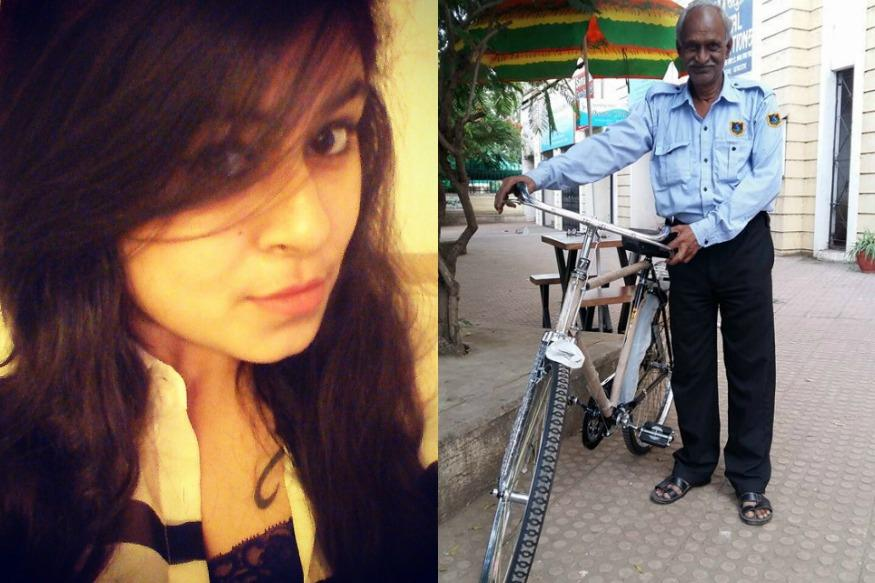 Internet Is Lauding This Pune Girl For Going Out of Her Way To Help An ATM Guard