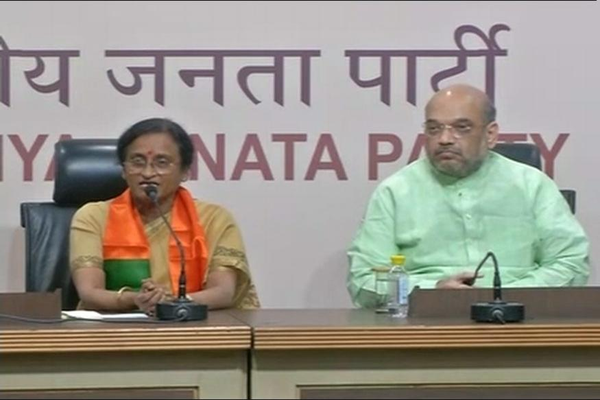 Congress MLA Rita Bahuguna Joshi joins BJP