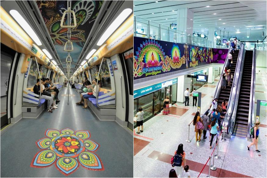 Diwali 2016: In A First, Singapore Launches Diwali-Themed Train