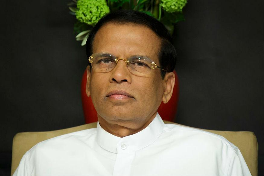 Sirisena Asks Trump's Help to Drop War Crime Charges