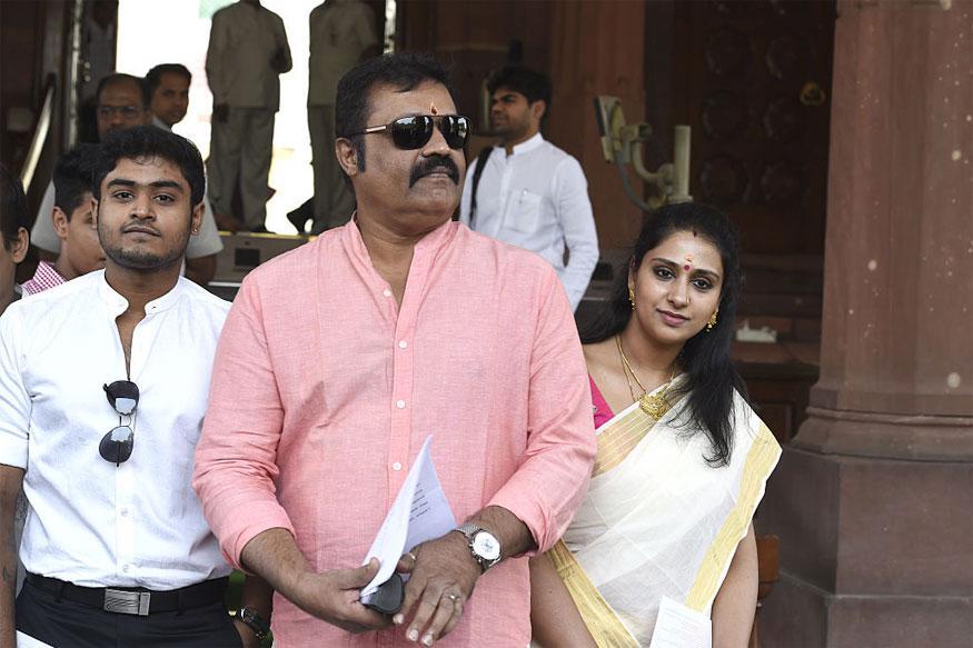 Malayalam Superstar Suresh Gopi Joins BJP