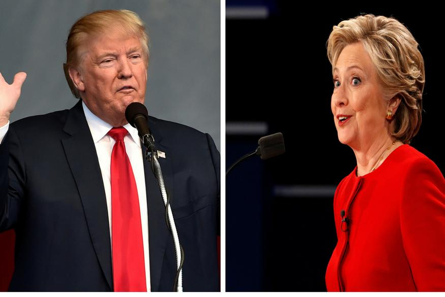 Donald Trump Accuses Hillary Clinton of 'Criminal Enterprise in Rigged' Polls