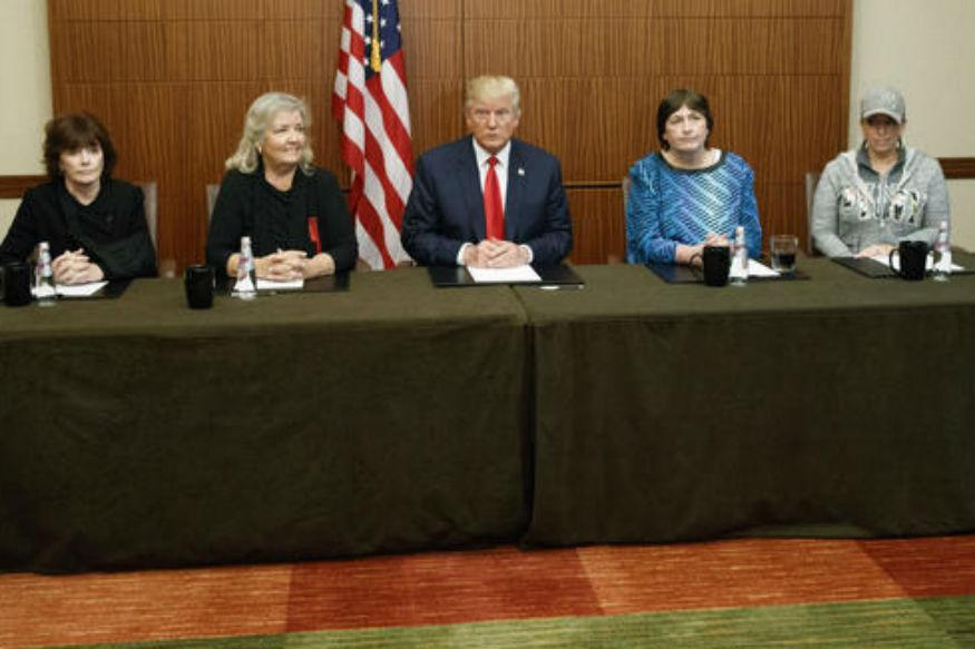 Now, Trump Highlights Bill Clinton Accusers Ahead of Debate