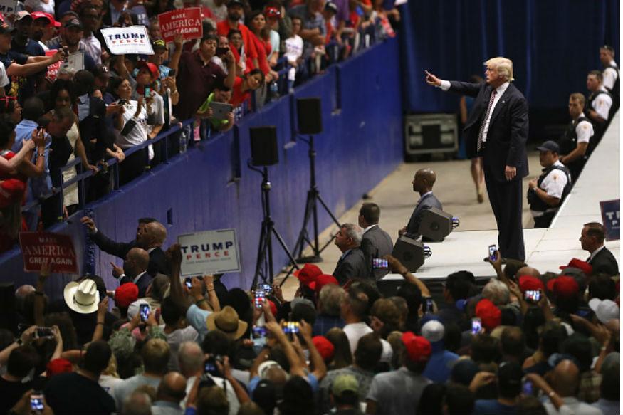 Trump Campaign Portrays Sikh as Muslim Supporter in Handbills