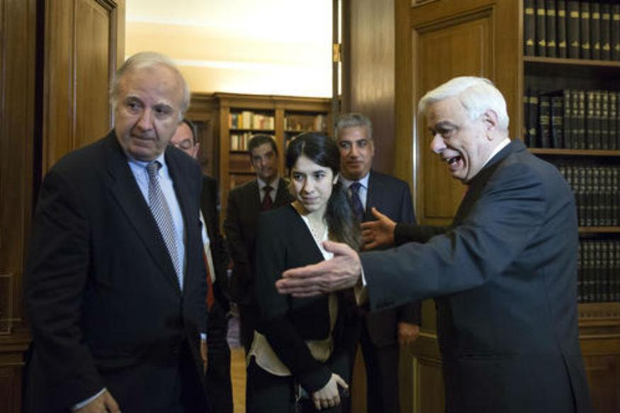EU lawmakers: 2 Yazidi women win EU human rights prize