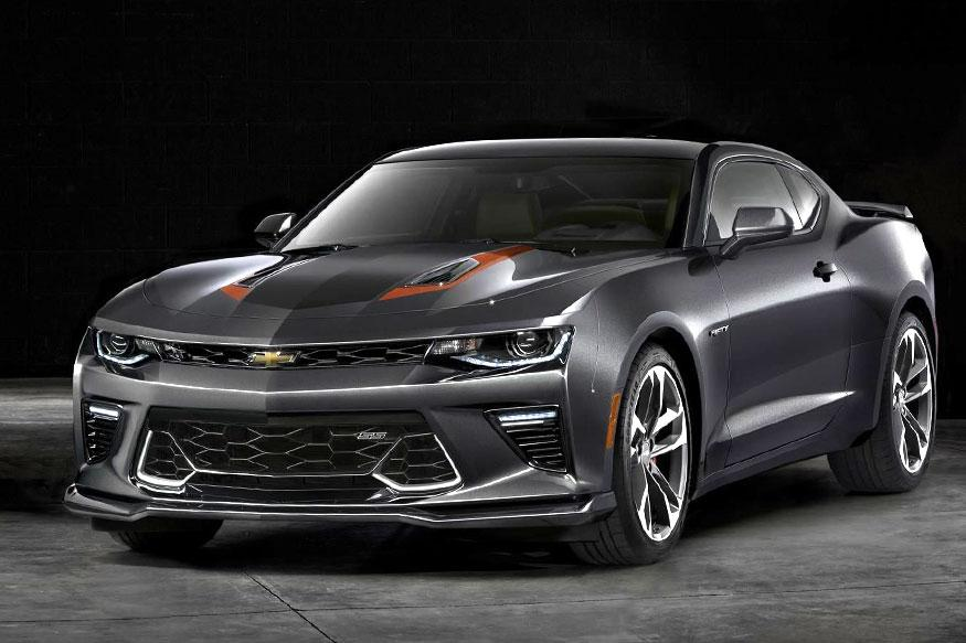Chevrolet Celebrates 50th Anniversary, Unveils Special Edition Camaro SS