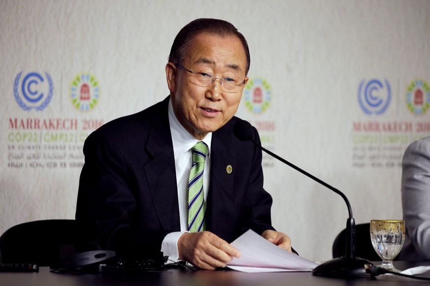 Deeply Concerned About Situation at Kashmir LoC: Ban Ki-moon