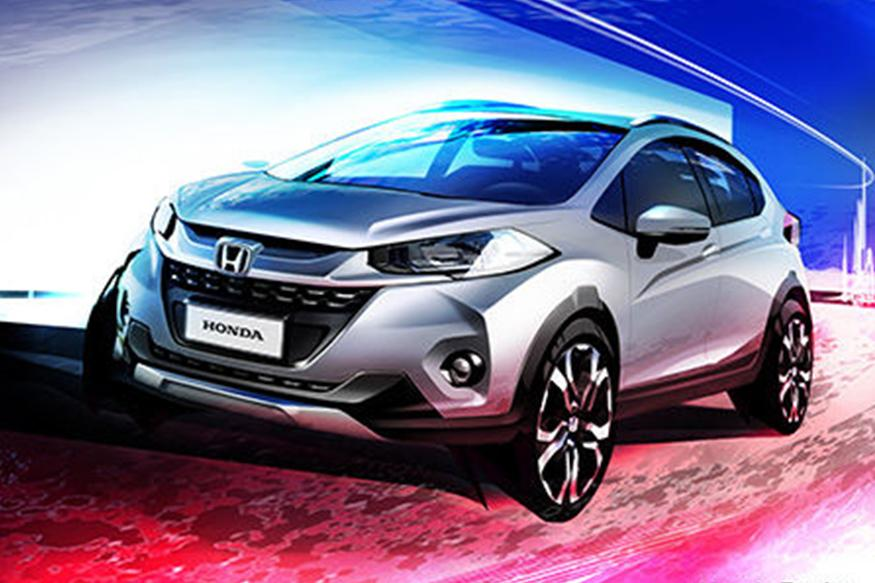Honda WR-V Teased Ahead Of Debut, To Rival Ford EcoSport