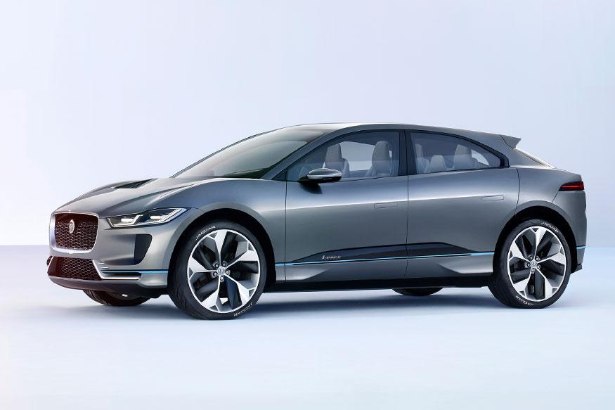 jaguar i pace suv concept shows the 39 electric 39 future that 39 s not so far away news18. Black Bedroom Furniture Sets. Home Design Ideas