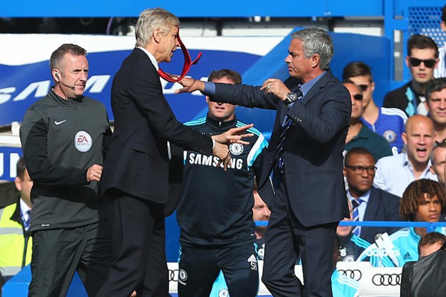 Arsene Wenger More Respected Than Me, Complains Jose Mourinho