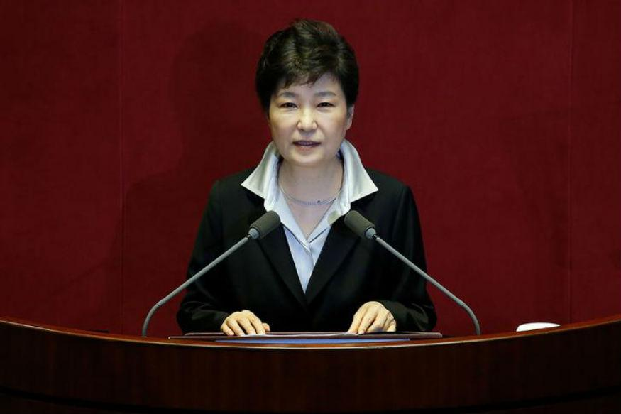 South Korea's Park Asks Parliament to Find Way for Her to Step Down