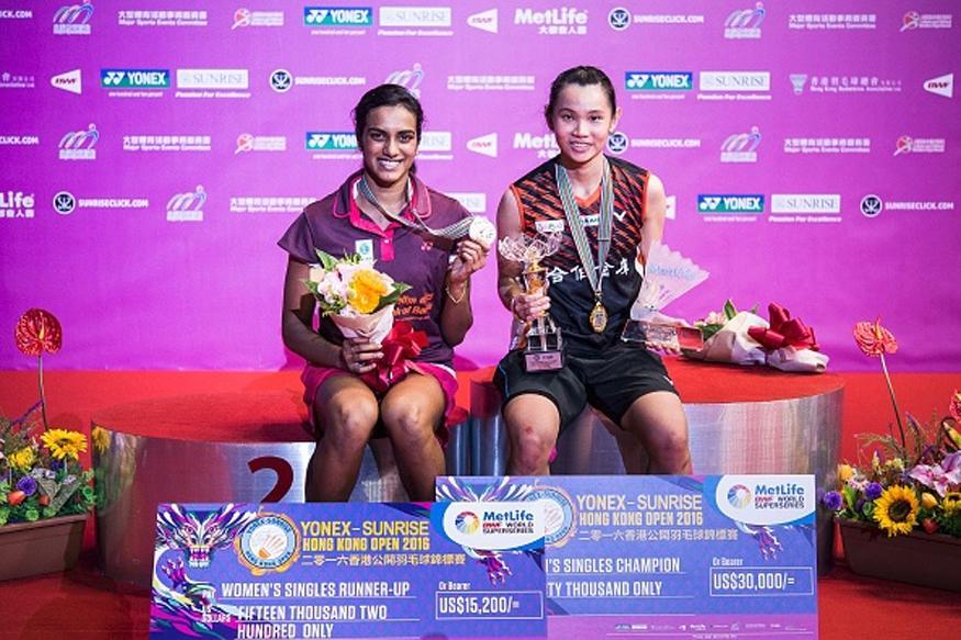 Hong Kong Open Super Series: PV Sindhu Loses to Tai Tzu Ying in Final
