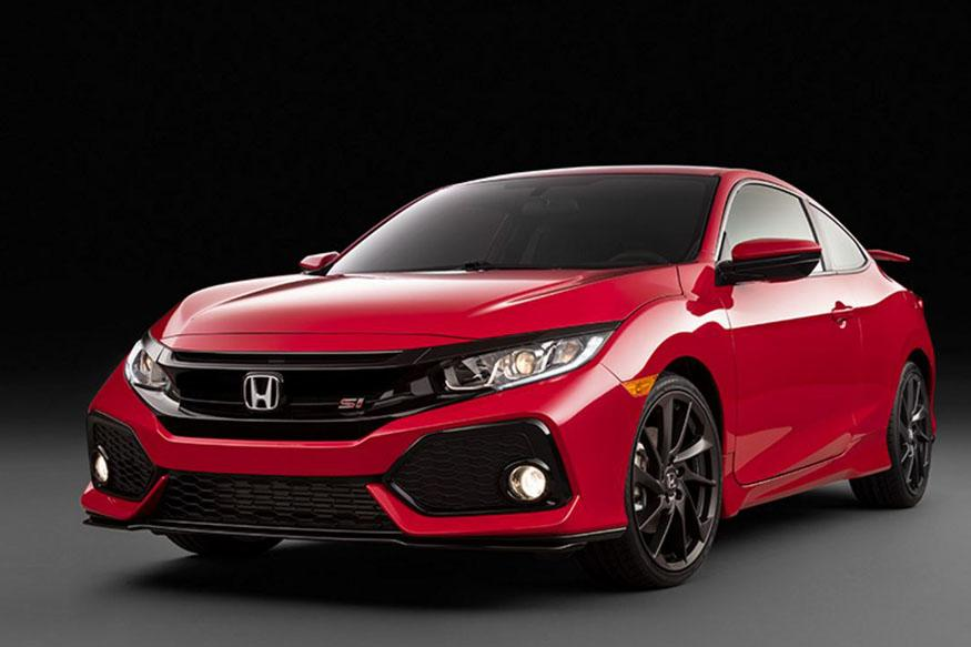 Honda Unveil Civic Si Coupe at La Auto Show 2016
