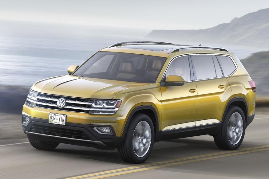 Volkswagen Unveils Seven-Seater SUV Christened Atlas