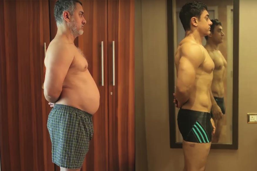 Aamir Khan's Transformation From 'Fat to Fit' Will Inspire You to Hit the Gym
