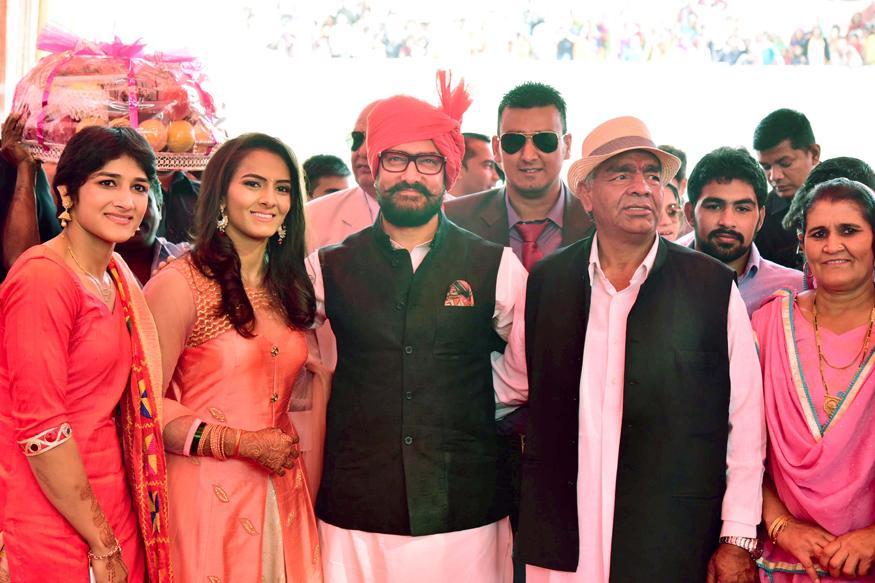 Aamir Khan Attends Real-Life 'Dangal' Daughter Geeta Phogat's Wedding