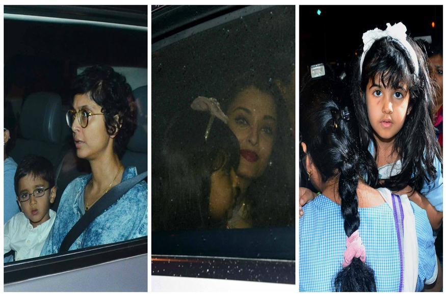Aamir Khan's Son Azad, Twinkle Khanna's Daughter Nitara Attend Aaradhya Bachchan's Birthday Bash