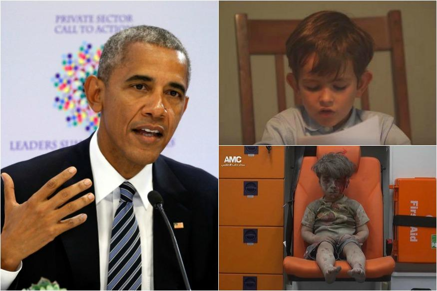 Barack Obama Meets Alex Who Offered Help To The Boy In The Ambulance