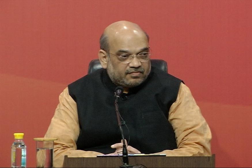 Amit Shah Slams Opposition For Opposing Demonetisation
