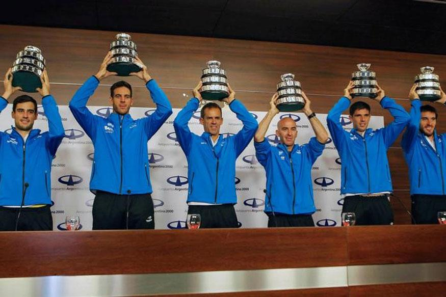 Argentina's Davis Cup Winners Return to Heroes' Welcome