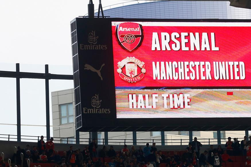 Five Great Manchester United vs Arsenal Games