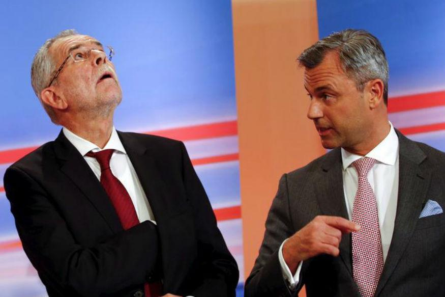 Austria's Presidential Rivals Clash in TV Debate