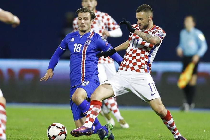 Marcelo Brozovic Double Gives Croatia 2-0 Win Over Iceland
