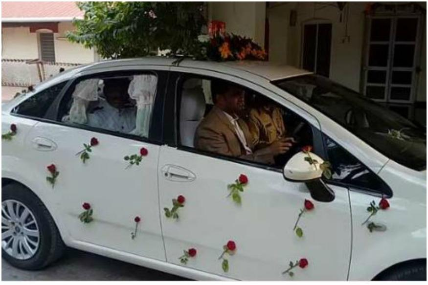 As A Farewell Gift, Akola's Collector Drives Chauffeur To Office On His Retirement Day