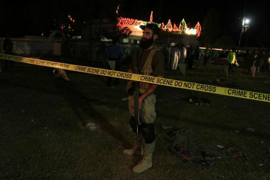 52 killed in sufi shrine blast in Pakistan's Balochistan; IS claims responsibility