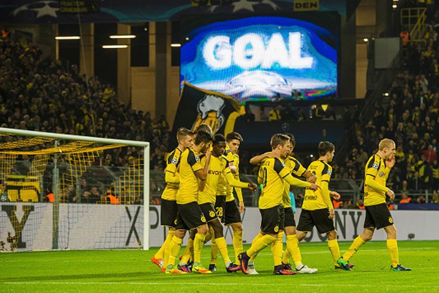 Champions League: Borussia Dortmund Claim Record 8-4 Win Over Legia Warsaw
