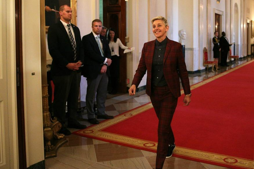 Ellen DeGeneres Temporarily Denied Entry Into The White House For Forgetting Her ID Card