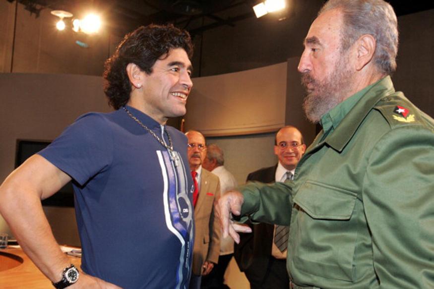 Fidel Castro Was Like My Second Father: Diego Maradona