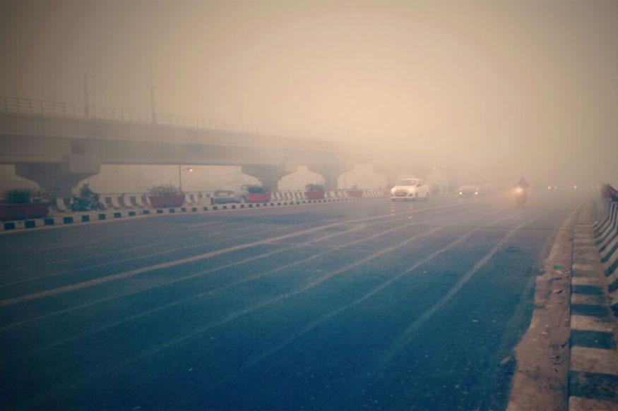 Dense Fog Cover Shrouds Delhi, NCR; Flight Operations Affected