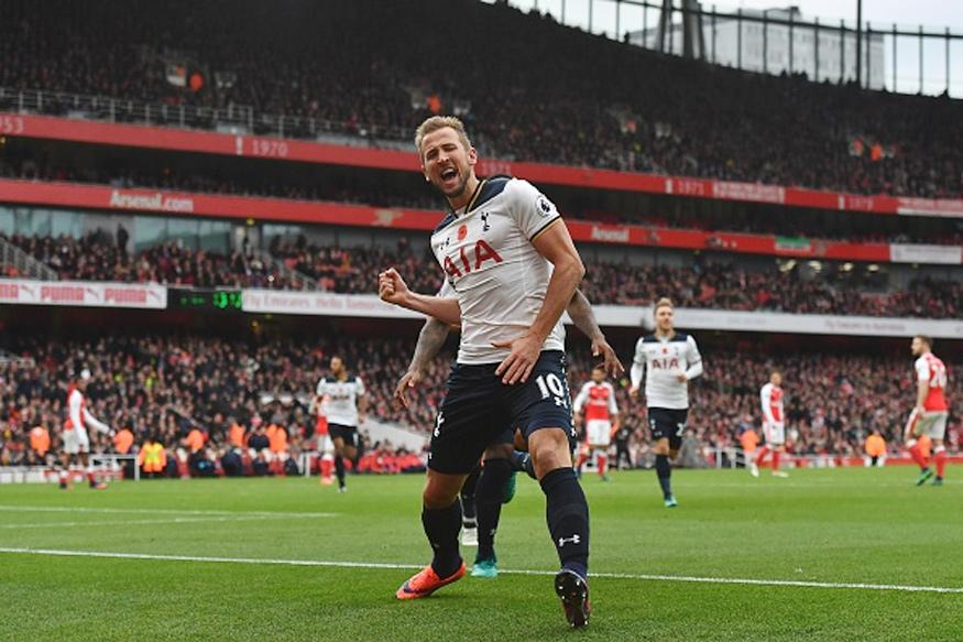 EPL: Kane Penalty Earns Tottenham 1-1 Draw at Arsenal
