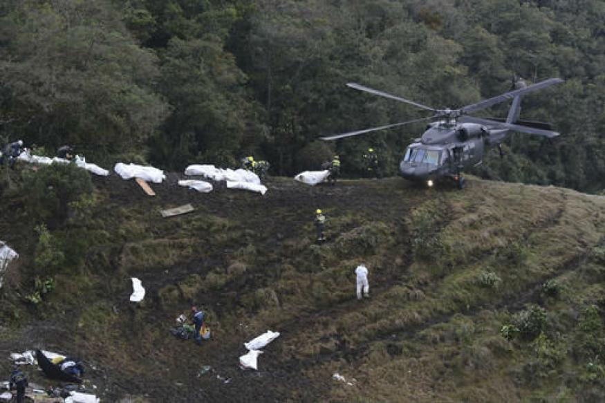 Black Boxes Found From Brazilian Football Team Plane Crash