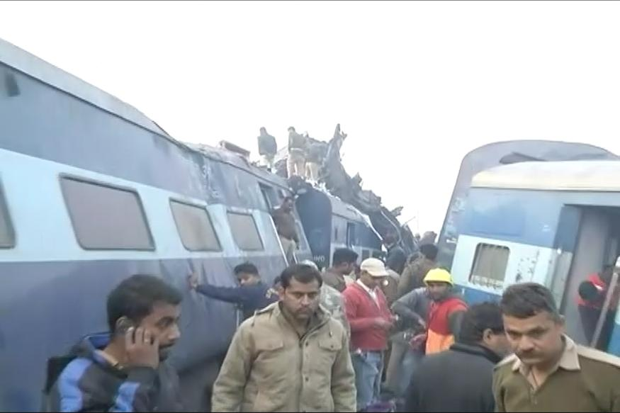 Train in northern India derails, killing at least 30 people